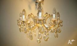 8 arm Chandelier Light stock no. 2158. We have many