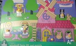 ELC Happyland Windmill Farm Lift Out Puzzle $10 Sealed