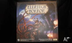 Complete Eldritch Horror Board Game. Very good