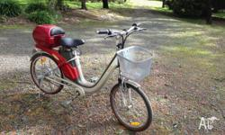 PowerPed electric bicycle. Retails at over $1,500 brand