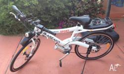Aseako Electric Bike. Only 6 months old, near new