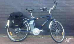 Up for grabs is a very decent second hand eBike. Brand
