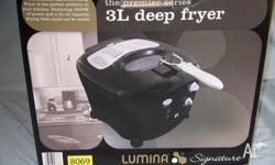 3L Deep Fryer Brand new never used Still in box