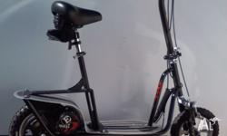 Aluminium decked, chain driven, with foldable