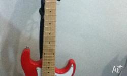 Steel Strings Electric Guitar 1 month old Tuned and