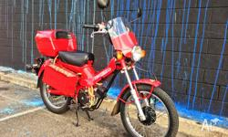 Up for grabs is my pride and joy. This electric Honda