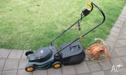 Ozito corded electric mower, used only 2 - 3 times (