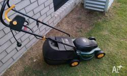 Ozito 1100W electric mower for sale, good condition,