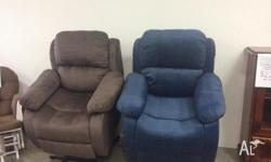 Brand new fabric or PU lift recliners. Fabric come in 3