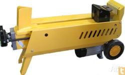 Log Splitter.Electric 9 Tonne LogSplitter 2400w. Ideal