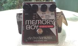 Up for sale is a vintage electro Harmonix memory boy!
