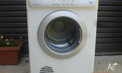 EDV 6051 6kg Sensor dryer. Current model. Faultless.