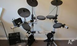 Electronic Drum Kit DD-100 for sale good clean kit to
