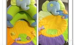 Elephant design hammock/play mat/ assisted seat. In