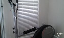 Elliptical Runner with distance ,time, calorie and