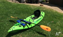 This kayak was bought 6 months ago, secondhand, has a