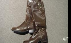 I got this Emozioni boots as gift last Chirstmas.