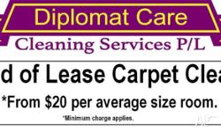 - End of lease carpet cleaning. - Carpet steam