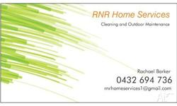www.rnrhomeservices.com.au We specialise in Bond/End of