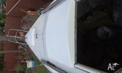 Selling an endeavour 24 yacht build Comes with cradle,