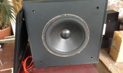 ENERGY ES-10 AUDIOPHILE POWERED SUBWOOFER DICRETE