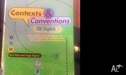 Contexts & Conventions TEE English Rod Quin and Hugh