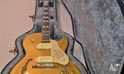 Epiphone ES-295 (Metallic Gold) in excellent/as new