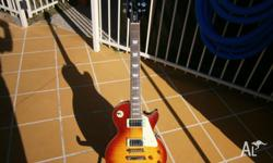 Epiphone Les Paul guitar made August 2005 in good
