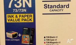 Brand new epson 73n ink pack in box unopened bought and