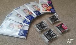 Genuine Epson Ink Cartridges (73N) - unopened and
