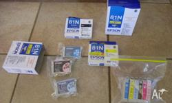 Have for sale Geniune Epson Ink 81N catridges - these