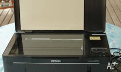This printer works as a scanner, photocopier and