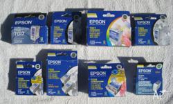 Genuine Epson Ink. T017 T026 T027 T028 T038 T039 T0495
