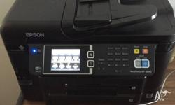 Epson WorkForce WF-3640 Only 4 months used. We are