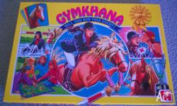 "Very Rare - Equestrian Horse Jumping ""Gymkhana"" Board"