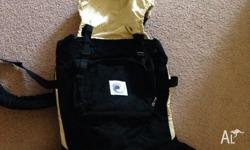 Used ergo baby carrier, comes with strap extension, in