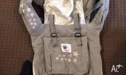 Ergo baby carrier Grey galaxy design. The ERGO baby