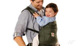 Ergobaby Stowaway model that folds up into a little