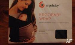 Ergobaby stretchy wrap in black and mocha. Unwanted