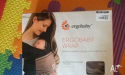 I'm selling this stretchy wrap as my baby never liked