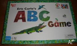 Eric Carle's ABC Game Players spin the spinner and