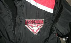 essendon AFL jacket, only worn a few times, great