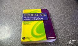 Hi I am selling my Essential Mathematical Methods 1 & 2
