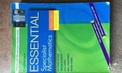 Essential. Specialist Mathematics Third Edition