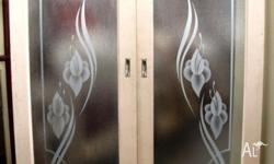 Etched Art Deco Door Set. Size 1580 w x 2045 h. Unique