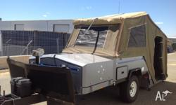 Eureka Offroad Hard Floor Camper Trailer. Hire