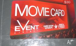I have an Event Cinema Movie Card to the value of