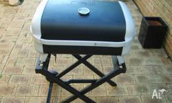 Used once this BBQ is in excellent condition. We bought