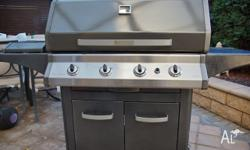 Everdure Norfolk Natural (Converted) Gas 4 burner BBQ