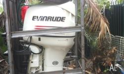 This outboard has low hours and has not done a lot of